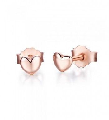 Twenty Plus Earrings Rose Gold Colored