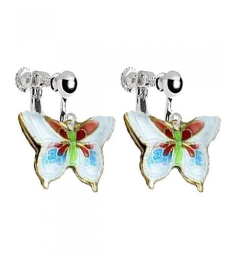 Butterfly Earrings Princess Birthday Jewelry