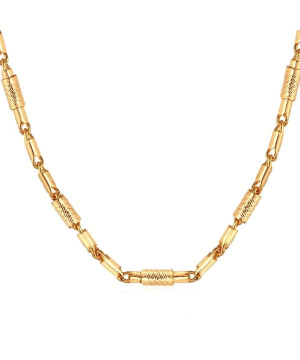 Vintage Columnar Unisex Necklace Pendant