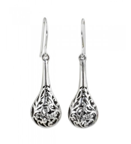 NOVICA Sterling Silver Dangle Earrings