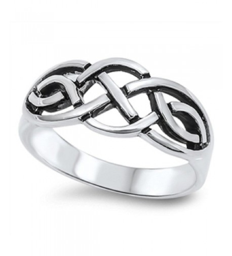 Sterling Silver Trinity Style Wiccan