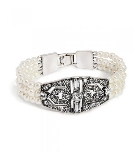 Katies Style Simulated Crystal Bracelet