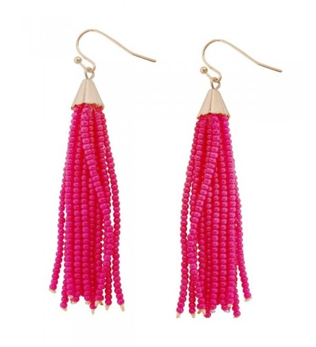 Humble Chic Beaded Tassel Dangles
