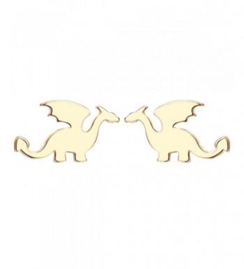 Alloy Cute Cartilage Dinosaur Earrings