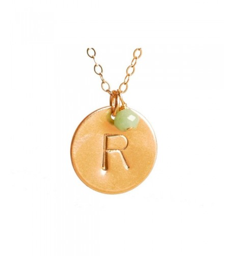 Initial Necklace Filled Personalized Jewelry