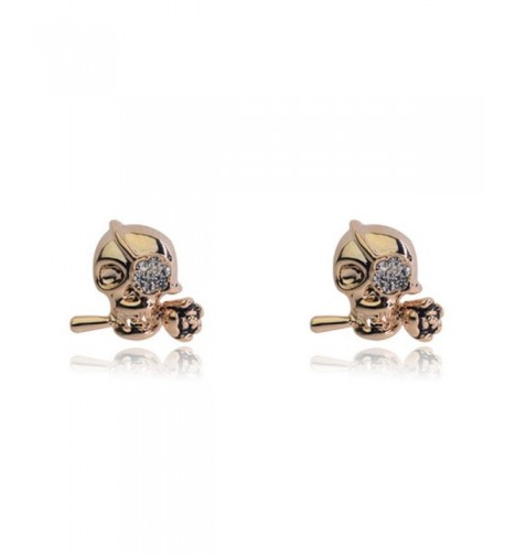 Pirates Caribbean One eyed Earrings 02001938 1