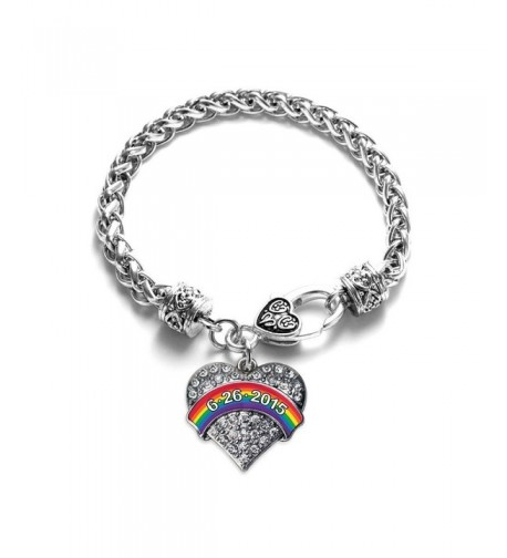 Marriage Equality 6 26 15 Bracelet Silver