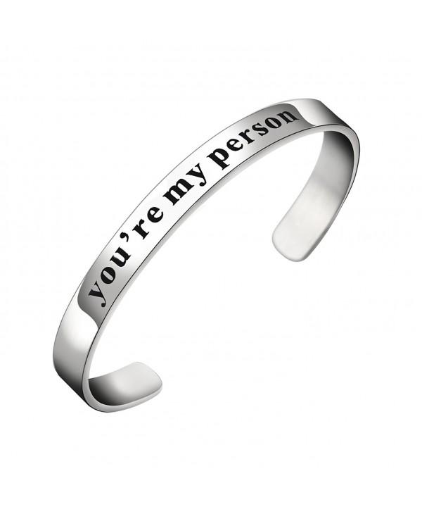 BESPMOSP Person Bracelet Jewelry Adjustable