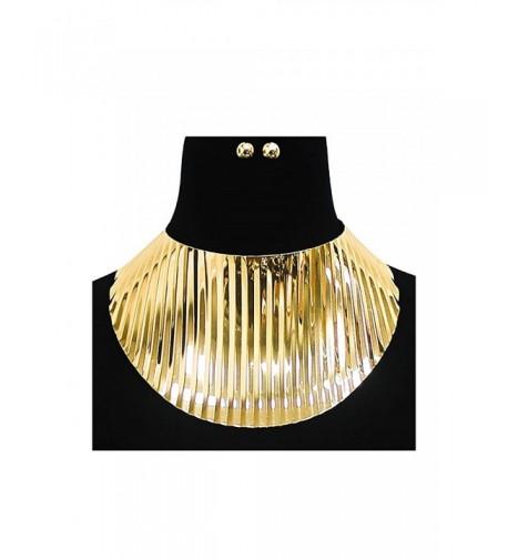 Womens Oversized Choker Necklace KS7012