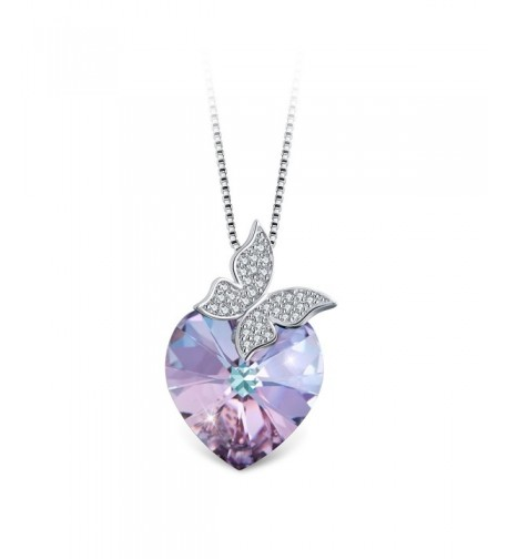 T400 Jewelers Butterfly Necklace Swarovski