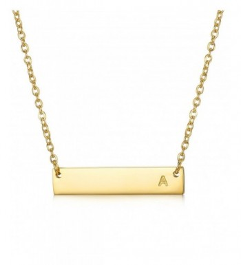 LOYALLOOK Stainless Necklace Alphabet extender