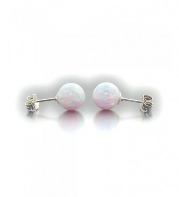 16c427609 Available. Trustmark White Created Earrings Lorraine; Women's Ball Earrings;  Cheap Jewelry Clearance Sale