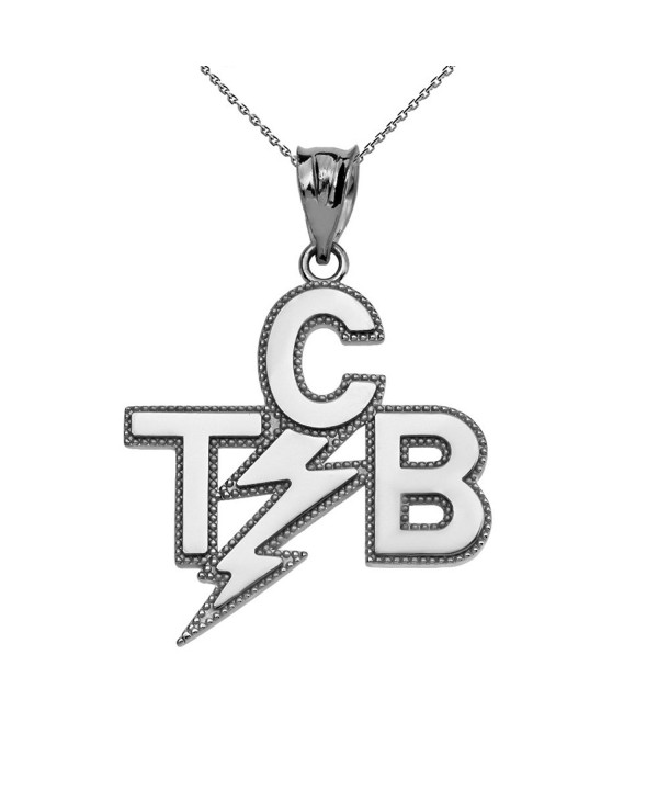 Taking Business Sterling Pendant Necklace