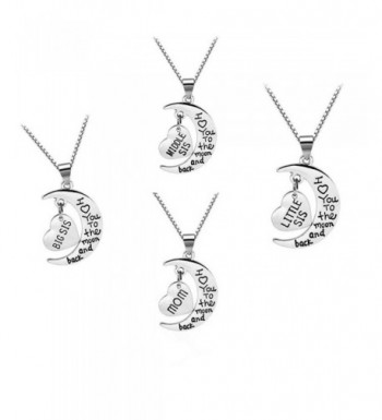 Family Jewellery Silver Pendant Necklace