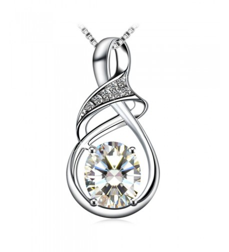 Necklace Sterling Zirconia J Rose Exquisite