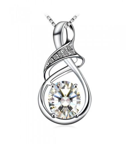 Necklace Sterling Zirconia J Rose Exquisite