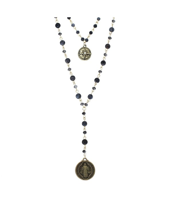 Rosemarie Collections 2 Strand Benedict Necklace