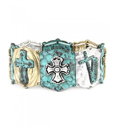4031596 Christian Stretch Bracelet Religious