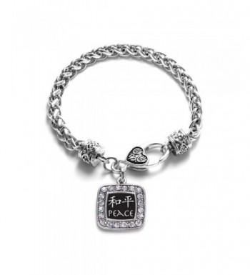 Chinese Characters Classic Silver Bracelet