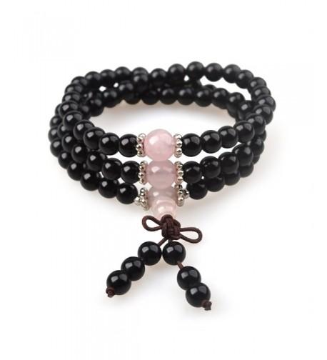 Bracelet Obsidian Healing Meditation Fashion