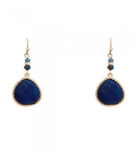 Rosemarie Collections Precious Teardrop Earrings