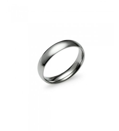 Silverline Jewelry Comfort Wedding Stainless