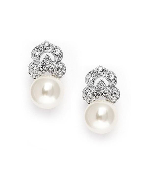Mariell Bridal Earrings Vintage Wedding