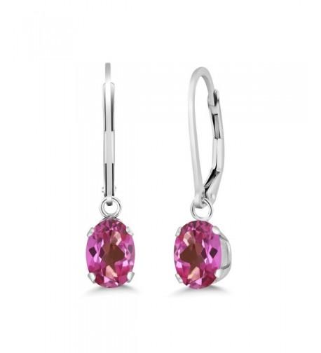 Mystic Sterling Silver Womens Earrings