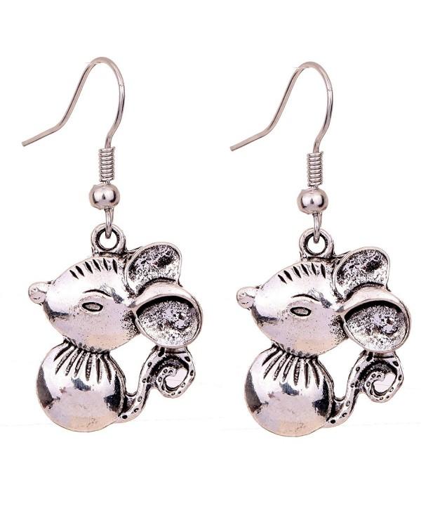YAZILIND Beautiful Lively Detail Earrings