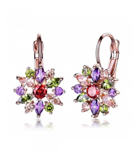 GULICX Marquise Multicolor Cubiczirconia Earrings