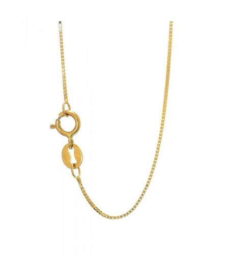 JewelStop Solid Yellow Necklace Spring