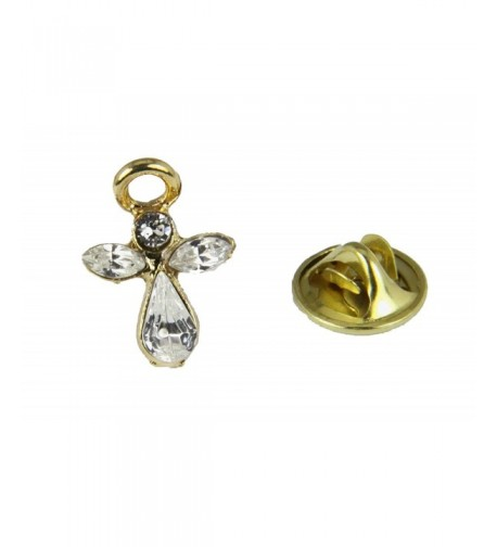 6030061 April Crystal Guardian Brooch