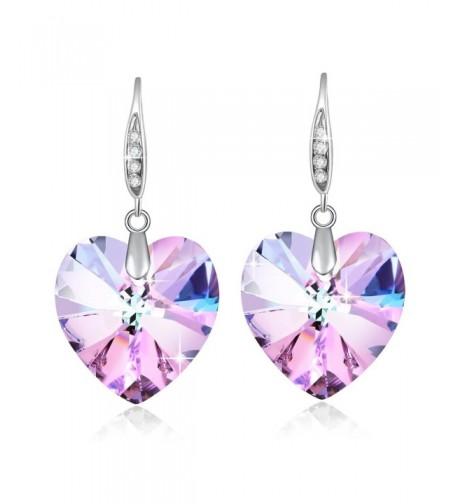 Earrings Birthstone Swarovski Crystal Fashion
