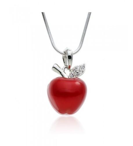 PammyJ Candy Silvertone Pendant Necklace