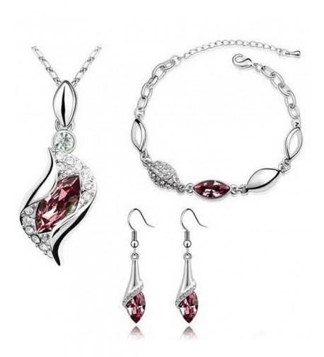 Cougars Choice Platinum plated Necklace Bracelet