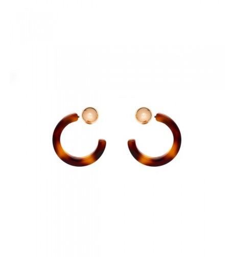Delice Delight Earrings NewYork 14K doubleside