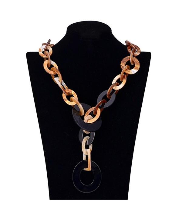 Yozone Jewelry Pendant Statement Necklace