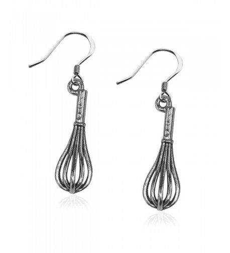 Whimsical Gifts Charm Earrings Silver