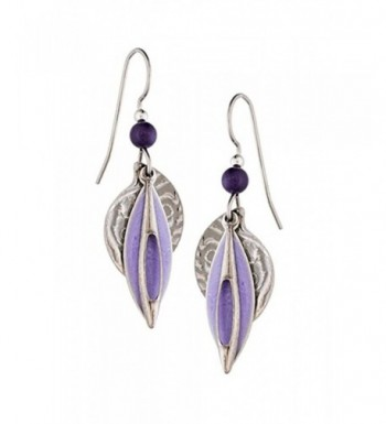 Silver Forest Layered Earrings Ne 0024a