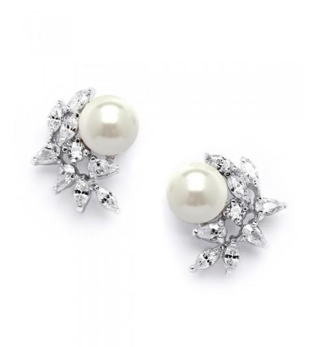 Mariell Cluster Wedding Earrings Bridesmaids