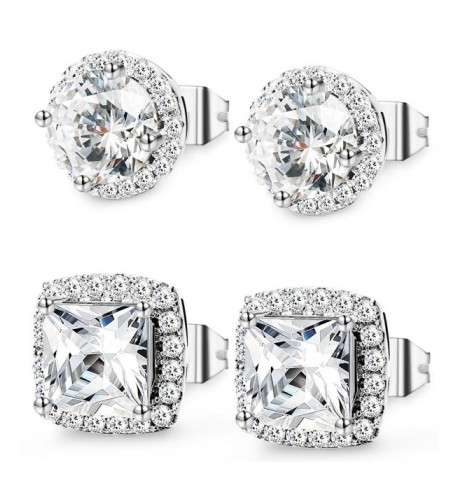 Jstyle Jewelry Earrings Zirconia Piercing