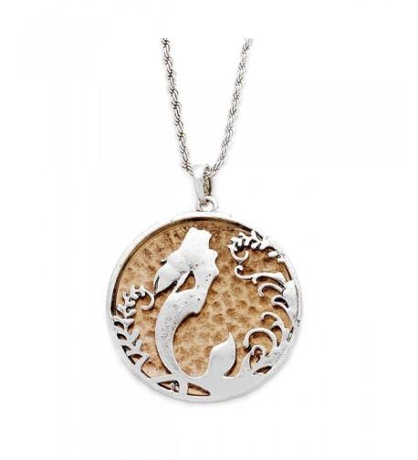 Liavys Mermaid Pendant Fashionable Necklace