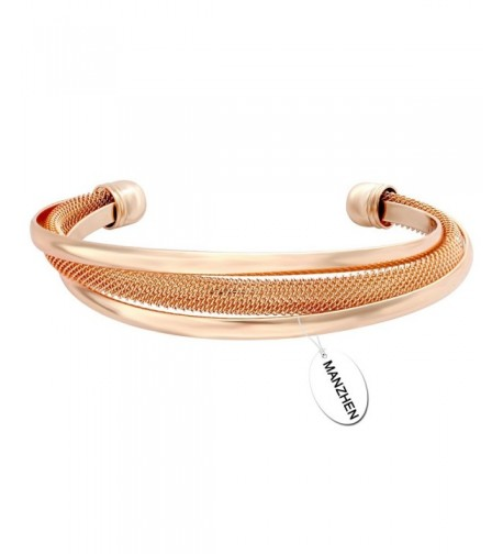 MANZHEN Vintage Bangle Bracelet Girlfriend