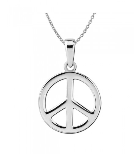 Sterling Silver Small Pendant Necklace