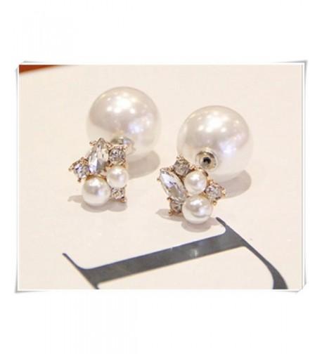 Earrings Earring flowers earring Double