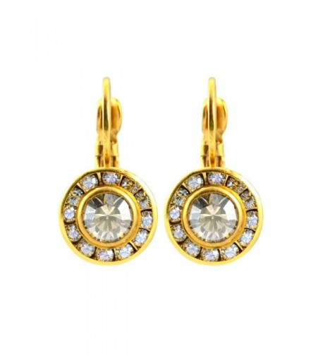 Liz Palacios Swarovski Crystal Earrings