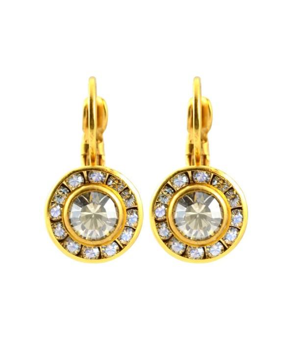 Liz Palacios Swarovski Crystal Earrings