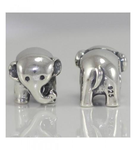 Elephant Strength Intelligence Charm Bracelets
