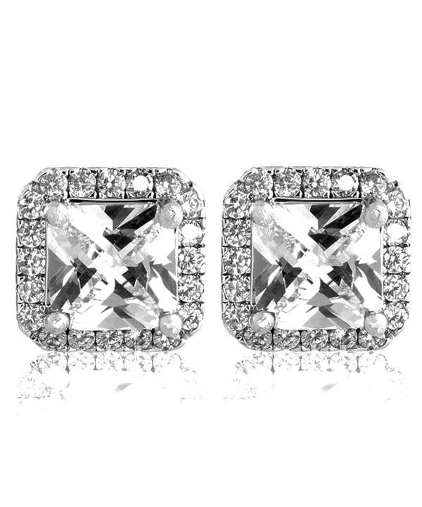 Pop Fashion Princess Zirconia Earrings