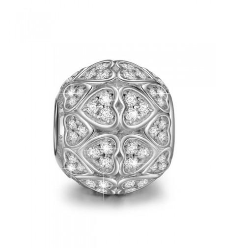 NinaQueen Sterling Silver Zirconia Charms